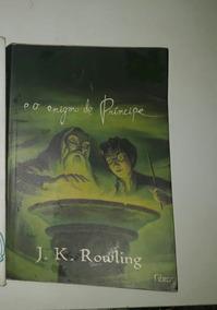 Livro Do Harry Potter E O Enigma Do Príncipe Usado