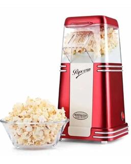 Pochoclera Eléctrica Nostalgia Retro Vintage Popcorn
