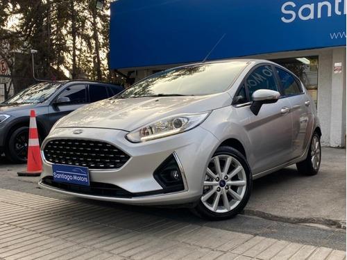 Ford Fiesta Titanium Un Dueño 2018