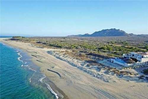 Maravillosa Playa De Arena Blanca A Lado De Cabo Pulmo