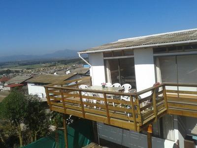 Arriendo Casa Con Linda Vista En Quintero Para 10 Personas