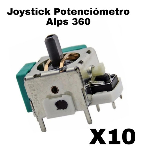 Imagen 1 de 5 de 10 Joystick Potenciómetro Alps Xbox 360 Nuevos Originales