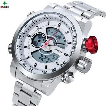 Relógio Masculino A Prava D Água 30m Nort De Modelo. N0123