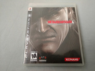 Metal Gear Solid 4 Original Para Ps3