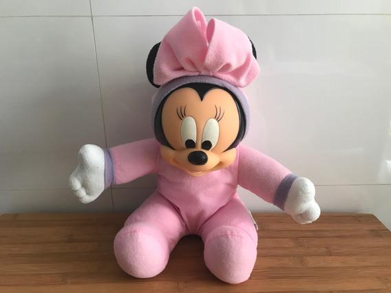 Minnie Mickey Mouse Bebê Disney Rosa Soft
