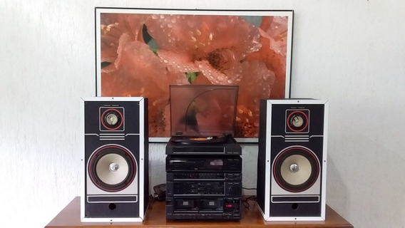 Aparelho Som Anos 80(anúncio Tv Canarinho)philco-hitachi