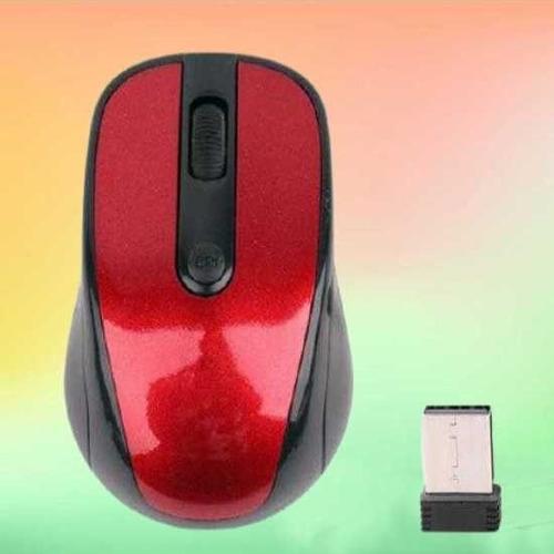 Imagen 1 de 3 de Mouse Inalambrico Para Computadora