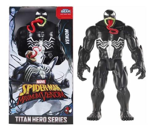 Marvel Venom Titan Hero Series Spiderman Maximum Venom