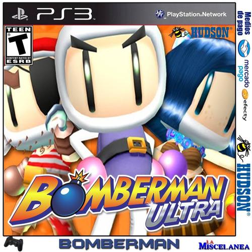 Bomberman Ultra Ps3 Digital