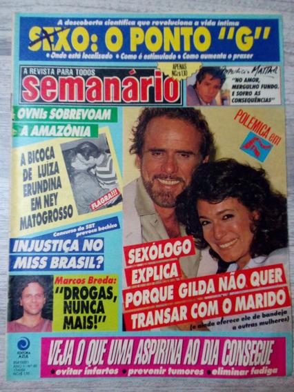 Revista Semanario - Ney - Susana Vieira - Oswaldo Montenegro