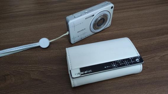Camera Sony Cyber-shot Dsc-350d Branca Com Cristais
