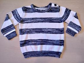 Suéter Tricot Infantil Tam. 9-12m