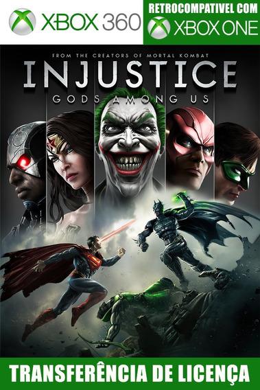 Injustice Gods Among Us Xbox 360 Mídia Digital