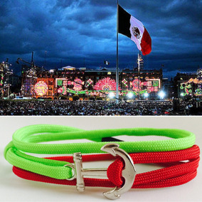 551da45da299 Pulsera Con Bandera Mexico en Mercado Libre México