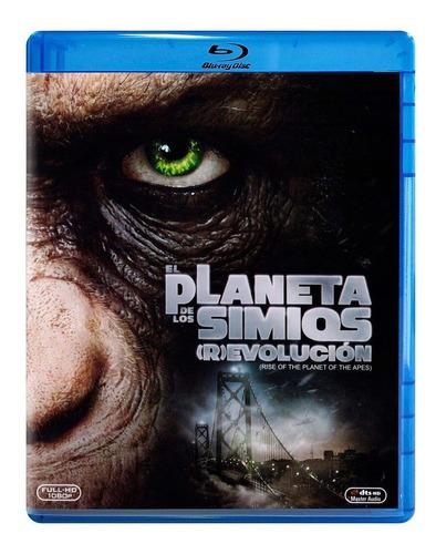 Imagen 1 de 3 de El Planeta De Los Simios Revolucion Pelicula Blu-ray