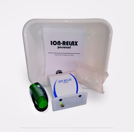 Desintoxicador Iónico Personal Ionizador Mas Plata Coloidal