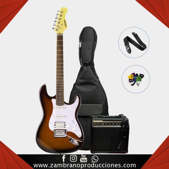 Combo De Guitarra Electrica Sakura (zam029)