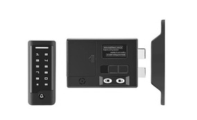 Fechadura Elétrica Senha Cartão Controle Acesso Multilaser