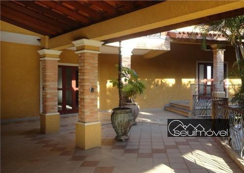Casa Com 5 Dormitórios À Venda, 620 M² Por R$ 2.500.000,00 - Condomínio Monte Belo - Salto/sp - Ca0765