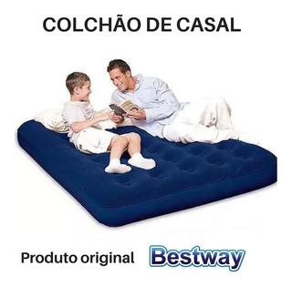 Colchão Inflável Casal Pronta Entrega Barato Camping