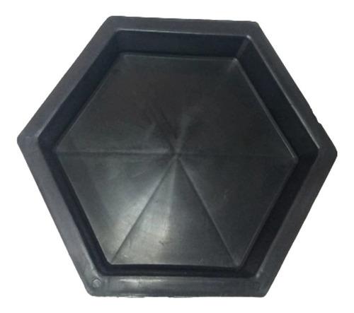 Forma Sextavada P/bloquete De Cimento 06cm 03 Peças!