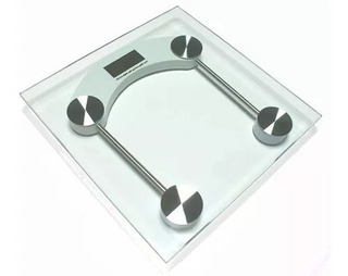Balança Digital Vidro Temperado 180kg Sensores De Precisão