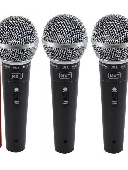 3 Microfones M-58