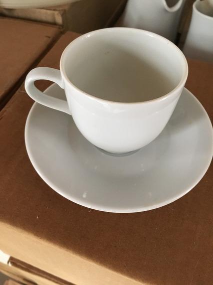 Porcelana Tsuji, Taza Y Plato De Cafe