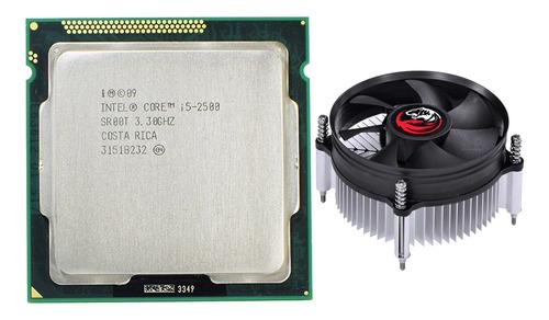 Imagem 1 de 9 de Processador Intel Core I5 2500 Lga 1155 + Cooler Notus St