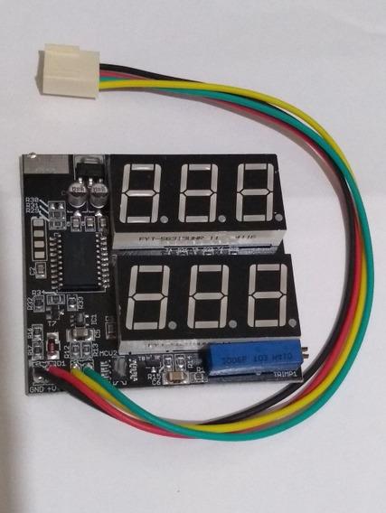 Voltímetro/amperímetro Original Fonte Usina 120, 150 E 200a