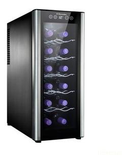Adega De Vinhos Electrolux Para 12 Garrafas Até 18° C Acs12