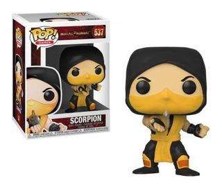 Funko Pop! Mortal Kombat Scorpion 537 Envio Incluido