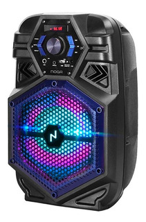 Parlante Bluetooth Karaoke 1000w Led Ng Bt 800usb Radio Fm