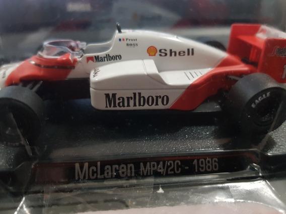 F1 - Alain Prost - Mclaren - Campeão 1986 - 1:43 - Histórico