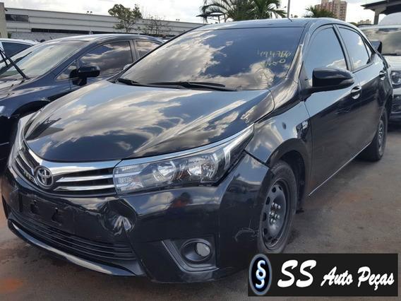 Sucata Toyota Corolla 2016 - Somente Retirar Peças