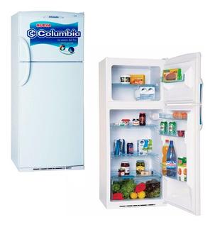 Heladera Columbia Htf2294 275lts Con Freezer Apertura Lados