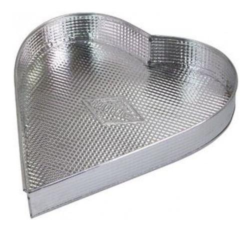 Imagen 1 de 3 de Molde Bizcochuelo Corazón  Nº2 - 900 Grs /cod.101/02