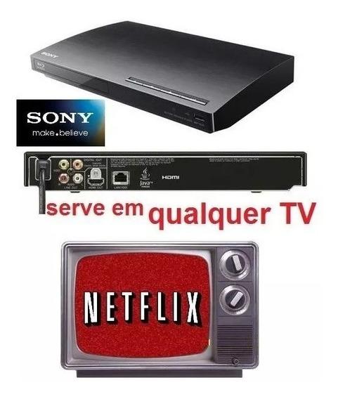 Blu-ray Sony Bdp-s190 Netflix + Controle+cabo Serve Em Qq Tv