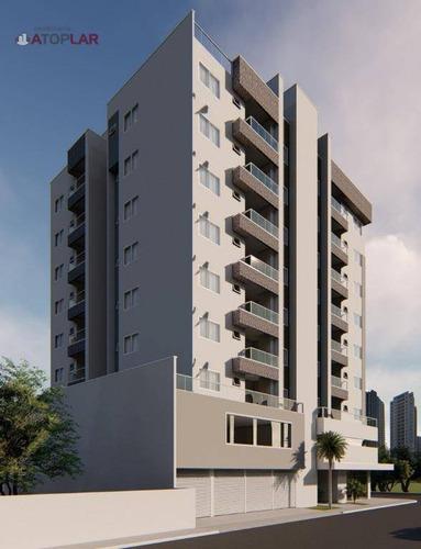 Apartamento Garden À Venda, 91 M² Por R$ 384.000,00 - Gravatá - Navegantes/sc - Gd0176