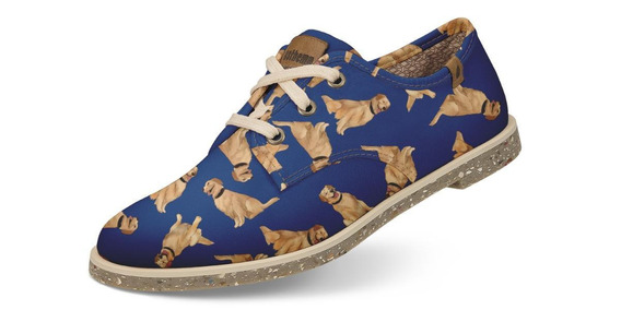 Sapato Casual Usthemp Legend Vegano Golden Retriever