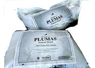 Almohada Fiberball Plumas Touch 70x50 X 2 Unidades