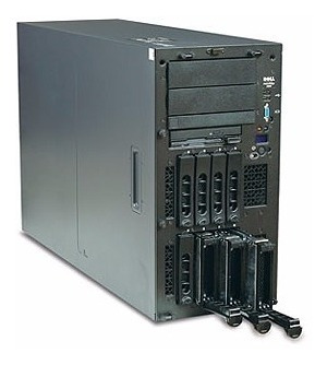 Servidor Dell Poweredge 2800 Intel Xeon Memória 4gb Hd 876gb
