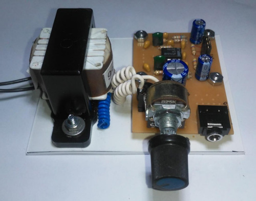 Modulo Preamplificador Riaa Phono Cápsula Magnética C/fuente