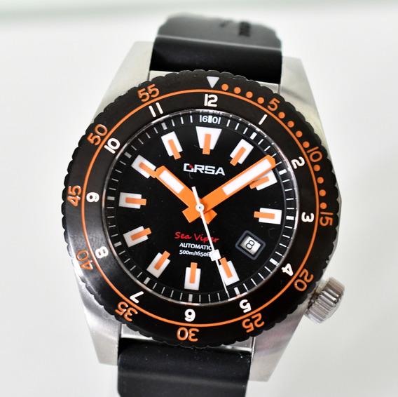 Relógio Orsa Sea Viper Superluminosa - Automático Eta 2824-2
