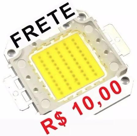 Kit / Pacote 3 - Led 50w Branco Xenon 5000lm - 6500k + Pasta