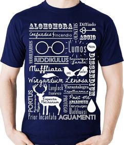Camiseta Harry Potter Feitiços (nerd / Geek) Camisa Blusa