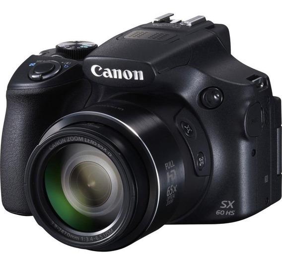 Câmera Fotográfica Digital Canon - Powershot Sx60 Hs 16.1-me