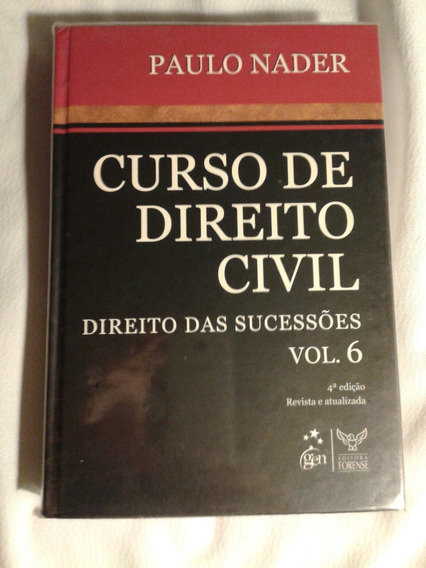 Curso De Direito Civil - Paulo Nader Volume 6