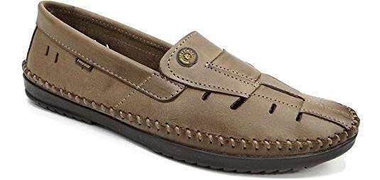 Mocassim Sapatilha Sapato Free Way Couro Colonelli Logan 2