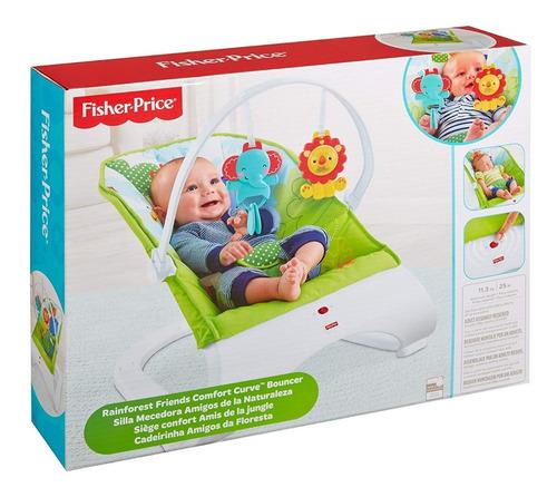 Fisher Price Mecedora Amigos De La Naturaleza Bunny Toys